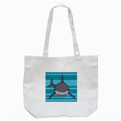 Shark Sea Fish Animal Ocean Tote Bag (white)
