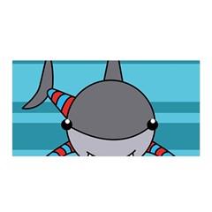 Shark Sea Fish Animal Ocean Satin Wrap