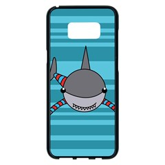Shark Sea Fish Animal Ocean Samsung Galaxy S8 Plus Black Seamless Case