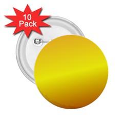 Gradient Orange Heat 2 25  Buttons (10 Pack)  by Nexatart