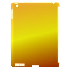 Gradient Orange Heat Apple Ipad 3/4 Hardshell Case (compatible With Smart Cover)