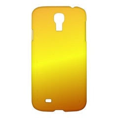 Gradient Orange Heat Samsung Galaxy S4 I9500/i9505 Hardshell Case