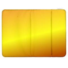 Gradient Orange Heat Samsung Galaxy Tab 7  P1000 Flip Case