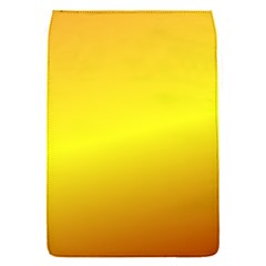 Gradient Orange Heat Flap Covers (s)  by Nexatart