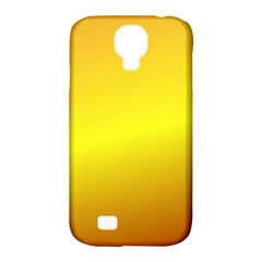 Gradient Orange Heat Samsung Galaxy S4 Classic Hardshell Case (pc+silicone)