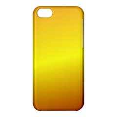 Gradient Orange Heat Apple Iphone 5c Hardshell Case