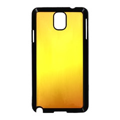 Gradient Orange Heat Samsung Galaxy Note 3 Neo Hardshell Case (black)