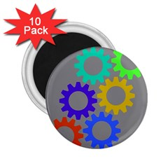 Gear Transmission Options Settings 2 25  Magnets (10 Pack)