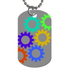 Gear Transmission Options Settings Dog Tag (one Side)