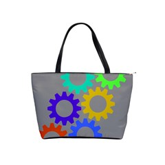 Gear Transmission Options Settings Shoulder Handbags by Nexatart