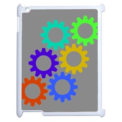 Gear Transmission Options Settings Apple Ipad 2 Case (white)