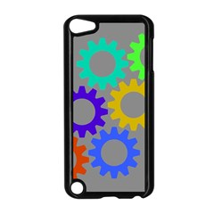 Gear Transmission Options Settings Apple Ipod Touch 5 Case (black)