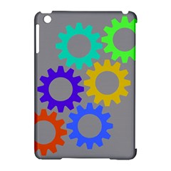 Gear Transmission Options Settings Apple Ipad Mini Hardshell Case (compatible With Smart Cover) by Nexatart