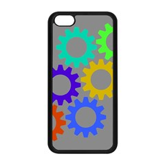 Gear Transmission Options Settings Apple Iphone 5c Seamless Case (black) by Nexatart