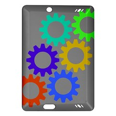 Gear Transmission Options Settings Amazon Kindle Fire Hd (2013) Hardshell Case by Nexatart