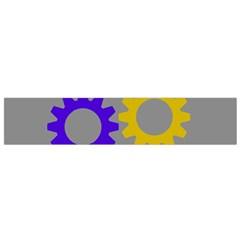 Gear Transmission Options Settings Flano Scarf (small) by Nexatart