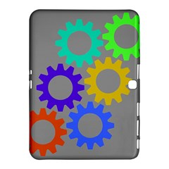 Gear Transmission Options Settings Samsung Galaxy Tab 4 (10 1 ) Hardshell Case