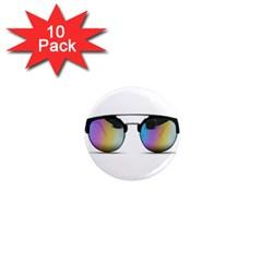 Sunglasses Shades Eyewear 1  Mini Magnet (10 Pack)  by Nexatart