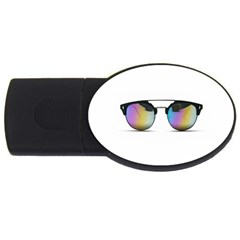 Sunglasses Shades Eyewear Usb Flash Drive Oval (4 Gb) by Nexatart