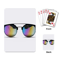 Sunglasses Shades Eyewear Playing Card by Nexatart