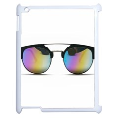 Sunglasses Shades Eyewear Apple Ipad 2 Case (white)