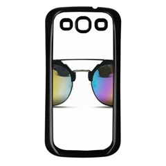 Sunglasses Shades Eyewear Samsung Galaxy S3 Back Case (black)