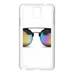 Sunglasses Shades Eyewear Samsung Galaxy Note 3 N9005 Case (white)
