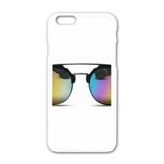 Sunglasses Shades Eyewear Apple Iphone 6/6s White Enamel Case