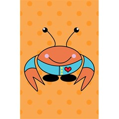Crab Sea Ocean Animal Design 5 5  X 8 5  Notebooks