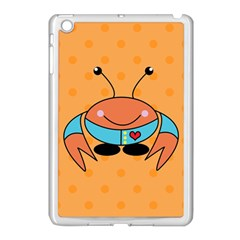 Crab Sea Ocean Animal Design Apple Ipad Mini Case (white)