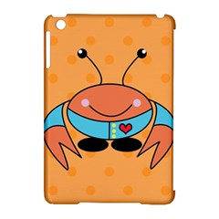 Crab Sea Ocean Animal Design Apple Ipad Mini Hardshell Case (compatible With Smart Cover)