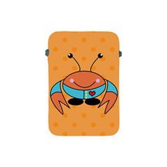 Crab Sea Ocean Animal Design Apple Ipad Mini Protective Soft Cases by Nexatart