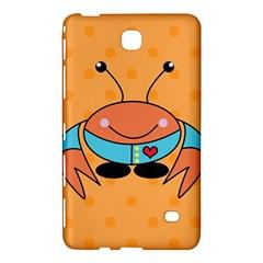 Crab Sea Ocean Animal Design Samsung Galaxy Tab 4 (8 ) Hardshell Case  by Nexatart
