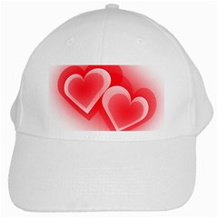 Heart Love Romantic Art Abstract White Cap