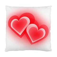 Heart Love Romantic Art Abstract Standard Cushion Case (two Sides)