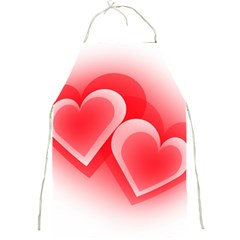 Heart Love Romantic Art Abstract Full Print Aprons