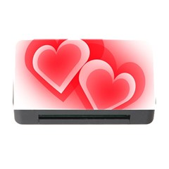 Heart Love Romantic Art Abstract Memory Card Reader With Cf