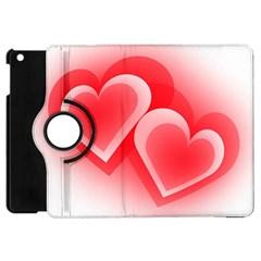 Heart Love Romantic Art Abstract Apple Ipad Mini Flip 360 Case
