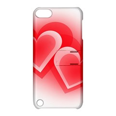 Heart Love Romantic Art Abstract Apple Ipod Touch 5 Hardshell Case With Stand