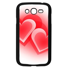 Heart Love Romantic Art Abstract Samsung Galaxy Grand Duos I9082 Case (black)