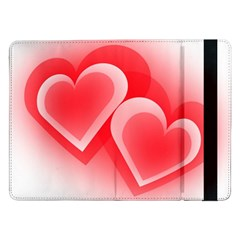 Heart Love Romantic Art Abstract Samsung Galaxy Tab Pro 12 2  Flip Case