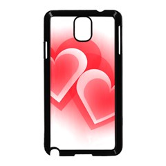 Heart Love Romantic Art Abstract Samsung Galaxy Note 3 Neo Hardshell Case (black)