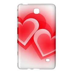 Heart Love Romantic Art Abstract Samsung Galaxy Tab 4 (7 ) Hardshell Case