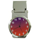 Course Colorful Pattern Abstract Money Clip Watches Front