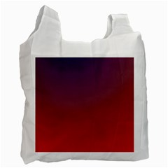 Course Colorful Pattern Abstract Recycle Bag (two Side)