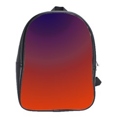 Course Colorful Pattern Abstract School Bag (large)