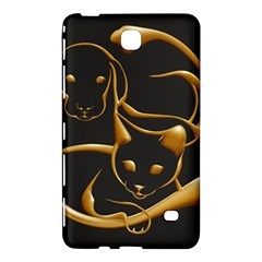 Gold Dog Cat Animal Jewel Dor¨| Samsung Galaxy Tab 4 (8 ) Hardshell Case