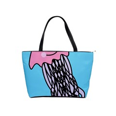Jellyfish Cute Illustration Cartoon Shoulder Handbags