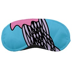 Jellyfish Cute Illustration Cartoon Sleeping Masks