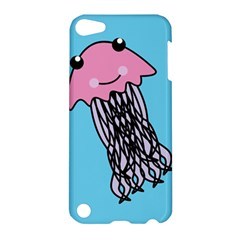 Jellyfish Cute Illustration Cartoon Apple Ipod Touch 5 Hardshell Case by Nexatart